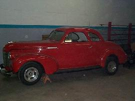 1940 Chevy Coupe Frame